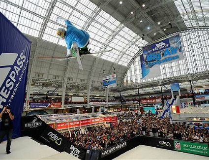Ski and Snowboard Show at Earls Court Exhibition Centre, London