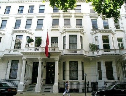 Morocco Embassy, London