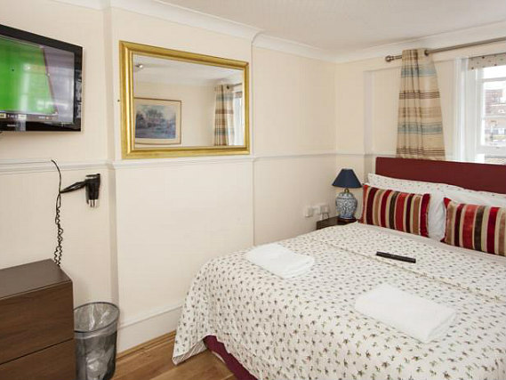 A double room at Classic Hotel is perfect for a couple