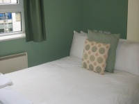 A double bedroom at Bankside House