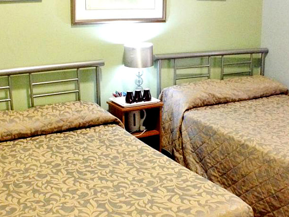 Quad rooms at Corbigoe Hotel are the ideal choice for groups of friends or families