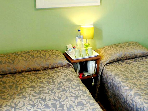 Triple rooms at Corbigoe Hotel are the ideal choice for groups of friends or families