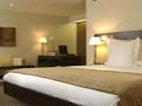 A stylish double room at K West Hotel