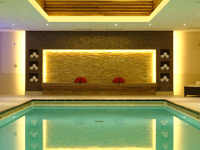 The Luxurious Swimming Pool at Landmark Hotel