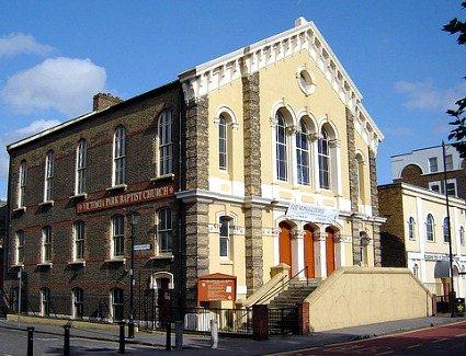 Baptist Church Covent Garden Garden Ftempo