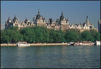 Royal Horseguards Hotel from across the Thames