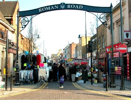 Roman Road Market, London
