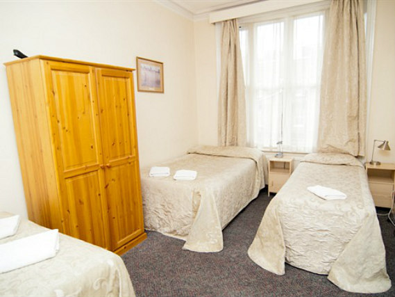 Quad rooms at St Simeon Hotel are the ideal choice for groups of friends or families