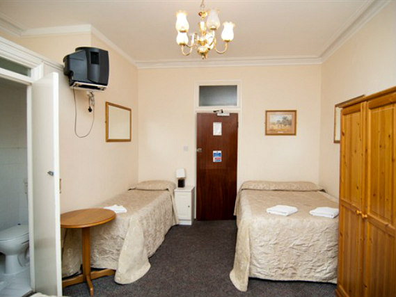 Triple rooms at St Simeon Hotel are the ideal choice for groups of friends or families