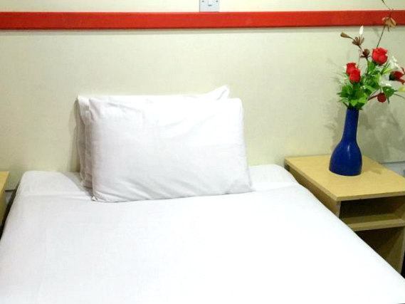 Single rooms at Euro Hotel Clapham provide privacy