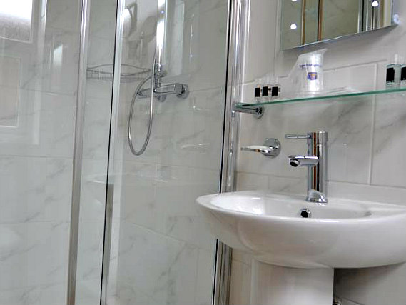 Bathrooms at Best Western Greater London Ilford are cleaned daily
