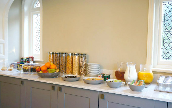 Enjoy a great breakfast at The Lawn Guest House