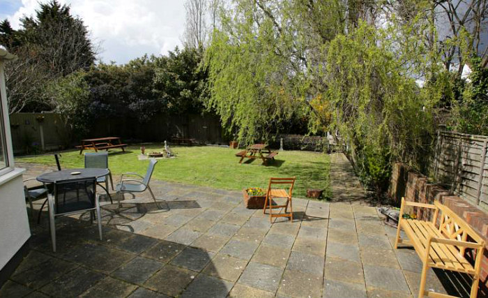 Relax in the garden at Manor House London