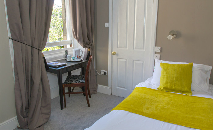 Single rooms at Manor House London provide privacy