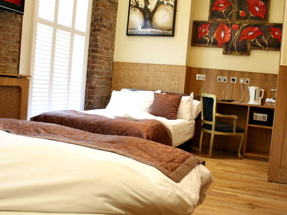 Quad rooms at Excelsior Hotel are the ideal choice for groups of friends or families