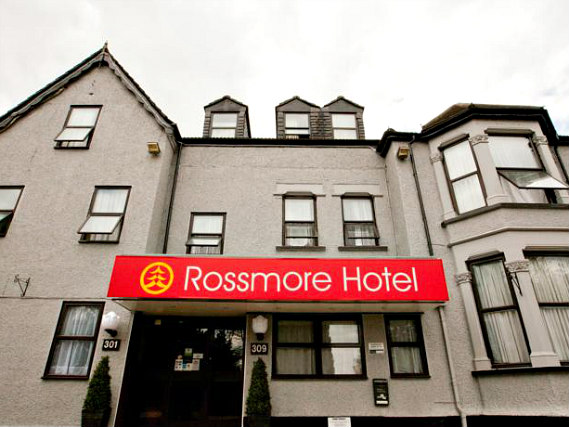 Rossmore Hotel is situated in a prime location in Ilford close to Westfield Stratford City