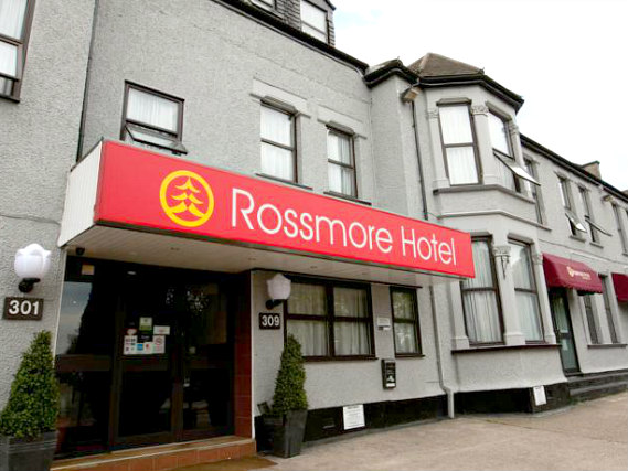 An exterior view of Rossmore Hotel