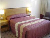 A double room at Crown Hotel Moran