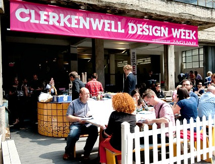 Clerkenwell Design Week at Crypt on the Green, London