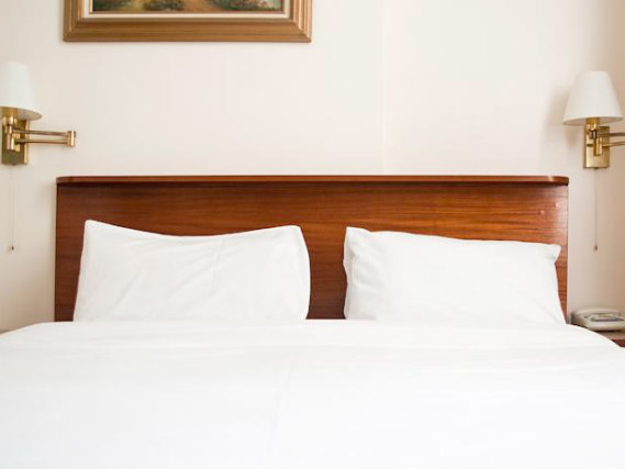 Get a good night's sleep in your comfortable room at St Georges Hotel BnB
