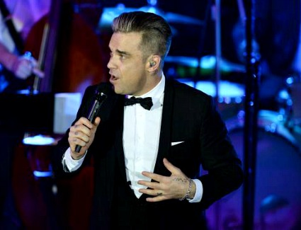 Robbie Williams at The O2 Arena, London