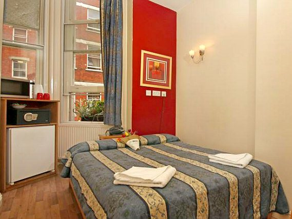 Get a good night's sleep in your comfortable room at St Mark Hotel London