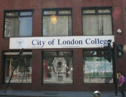 City of London College, London