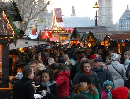 Wintertime Markets at Southbank Centre