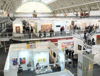 London Art Fair at Business Design Centre, London
