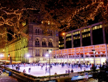 Natural History Museum Ice Rink at Natural History Museum, London