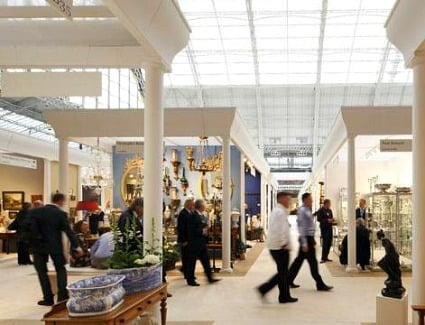 Winter Fine Arts and Antiques Fair at Olympia London
