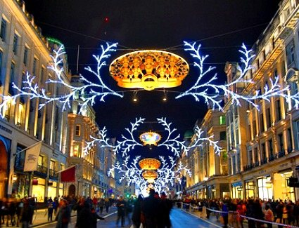 Regent Street Christmas Lights Switch-On