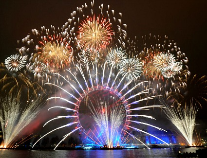 Mayor Of London S New Year Eve Fireworks Display 2017
