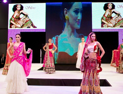 India Bridal Fashion Show at ExCel London Exhibition Centre, London