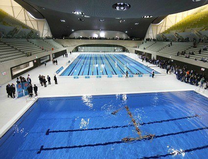 London Aquatics Centre, London