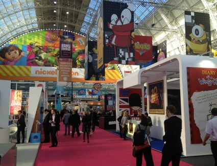 Brand Licensing Europe at Olympia Exhibition Centre, London