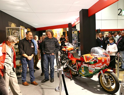 The Carole Nash MCN London Motorcycle Show at ExCel London Exhibition Centre, London