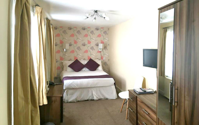 A double room at George Hotel Bloomsbury