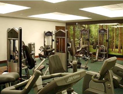 Park Plaza County Hall Hotel Gym, London
