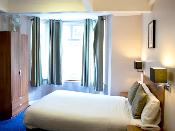 A double room at Hanover Hotel London is perfect for a couple
