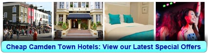 Book Cheap Hotels in Camden Town
