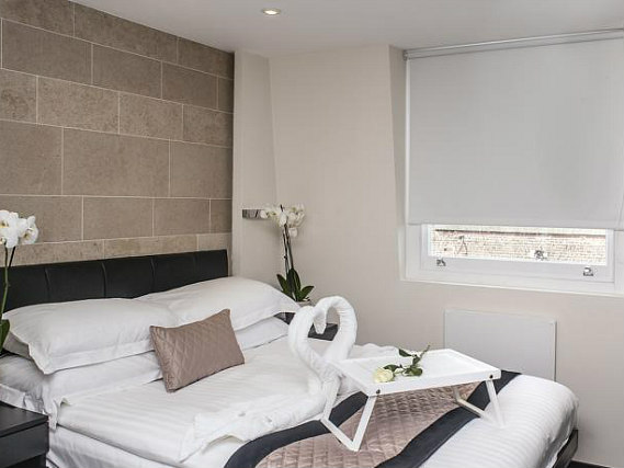 A double room at 39 Suites London is perfect for a couple