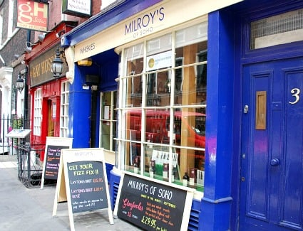 Milroys of Soho, London