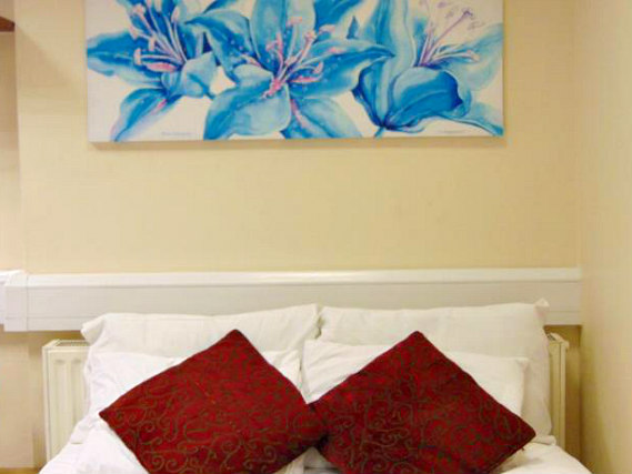 A double room at Excel Guest House London is perfect for a couple
