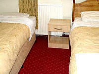 An example of a twin room at the Hotel Olympia