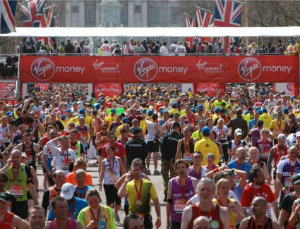 Virgin Money London Marathon Exhibition