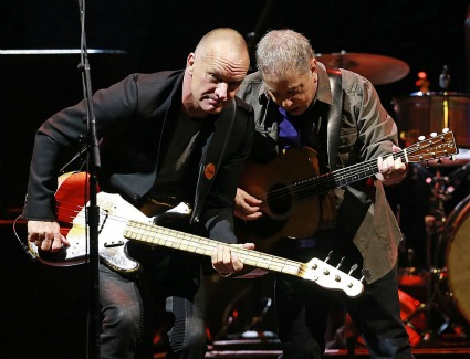 Paul Simon and Sting at The O2 Arena, London