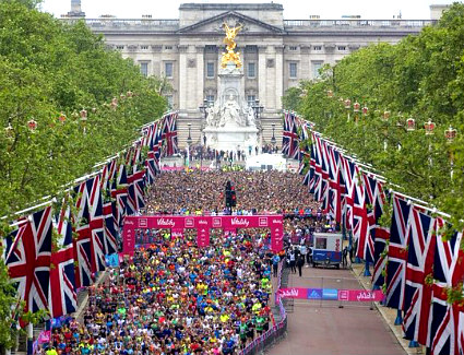 Vitality London 10000 at The Mall, London