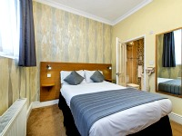 A double room at Lidos Hotel