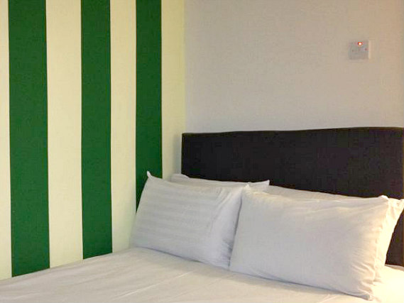 A double room at City View Hotel Roman Road is perfect for a couple